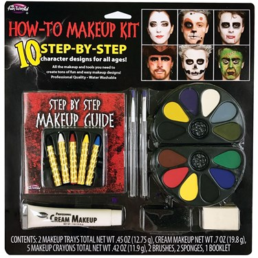 Deluxe Makeup and Booklet Kit