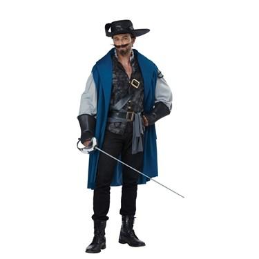 Deluxe Musketeer Men's Costume