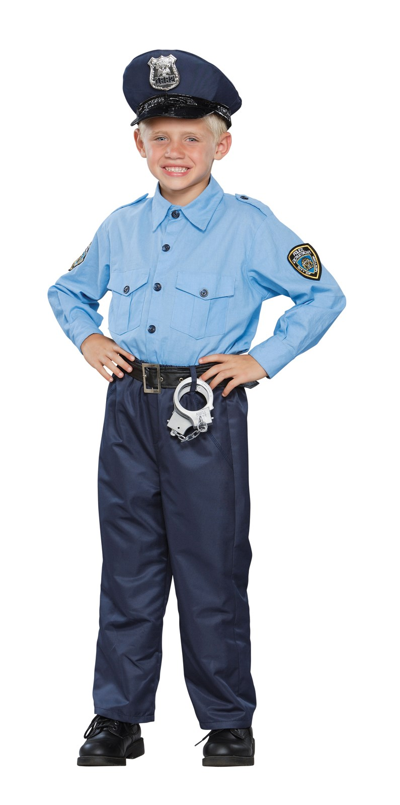 Female Cop Halloween Costume