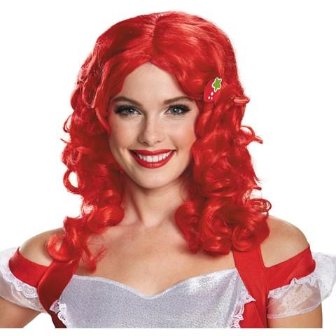 Deluxe Strawberry Shortcake Wig For Women