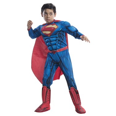 Deluxe Superman Costume For Kids
