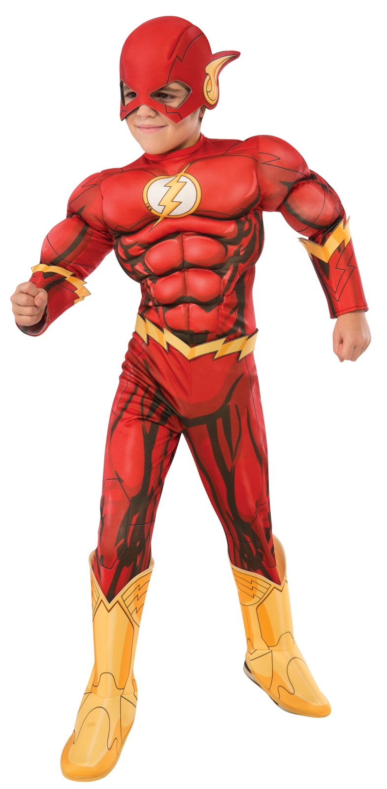 Deluxe The Flash Costume For Kids