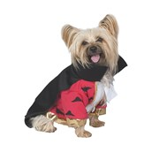 Deluxe Vampire Dog Costume