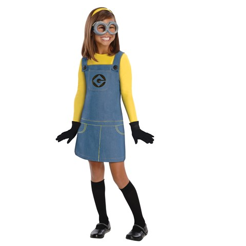 Despicable Me 2 - Female Minion Kids Costume