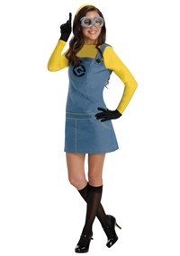 Despicable Me 2 Lady Minion Adult Size Costume