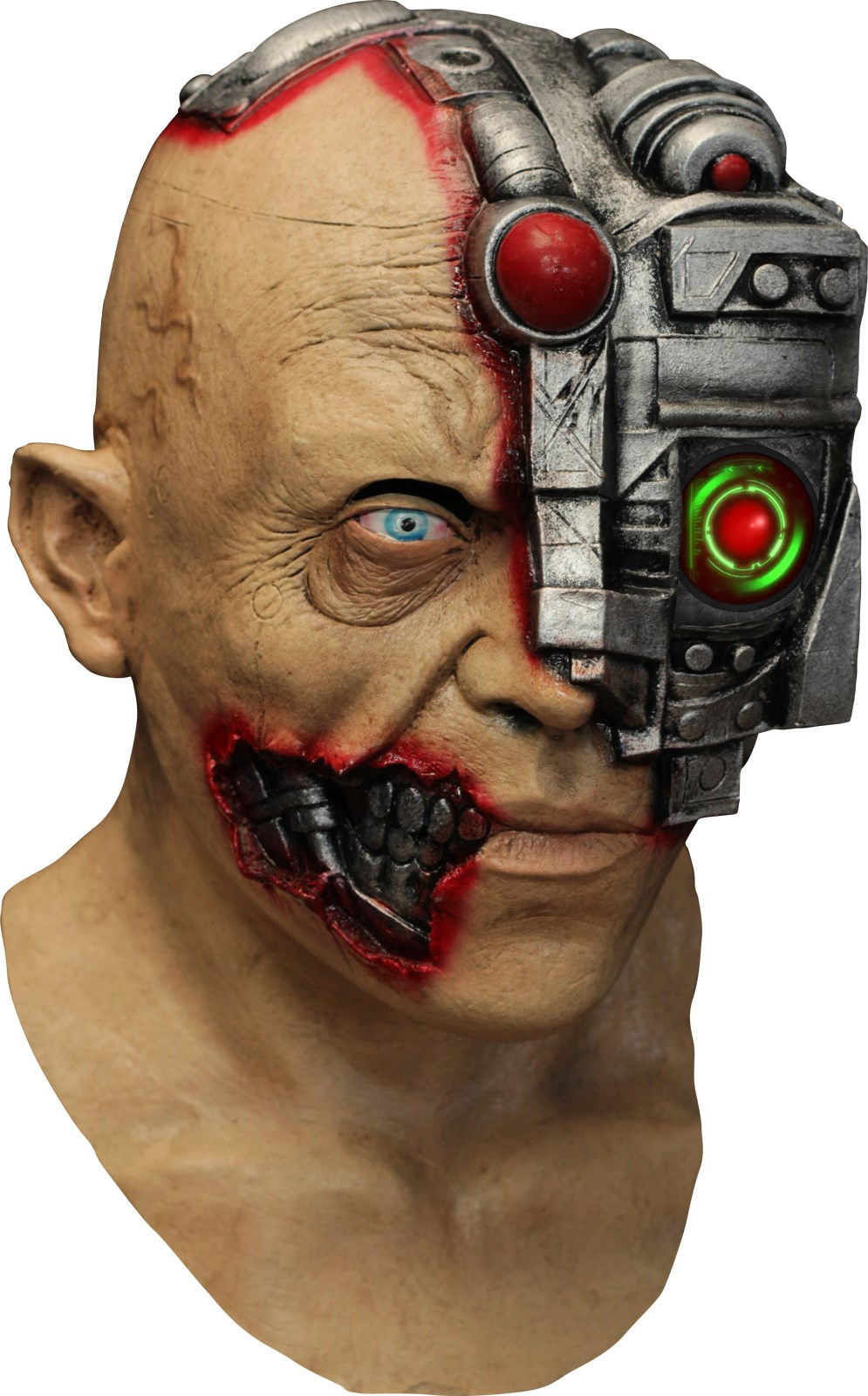 Digital Cyborg Latex Mask