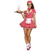 Diner Doll Costume For Women