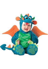 Click Here to buy Dinky Dragon Baby & Toddler Costume from BuyCostumes