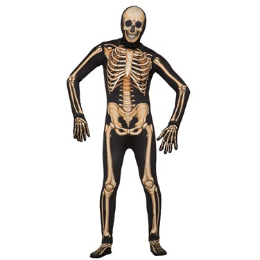 Disappearing Man Deluxe Skeleton Adult Costume