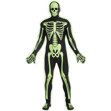 Disappearing Skeleton Teen Costume