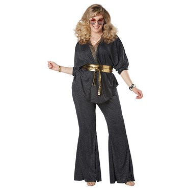 Disco Dazzler Women's Plus Costume