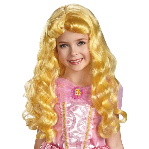 Disney Aurora Kids Wig