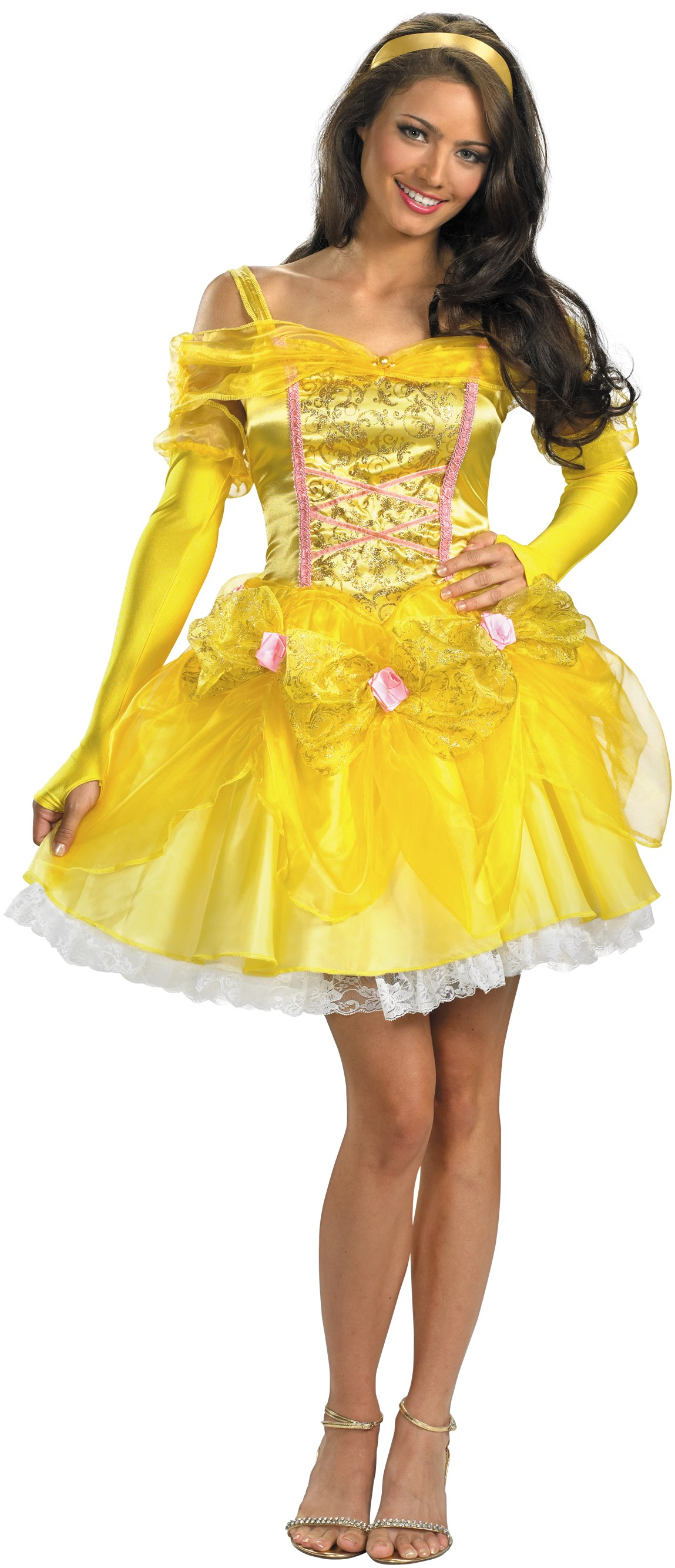 Disney Beauty And The Beast - Sassy Belle Adult Costume
