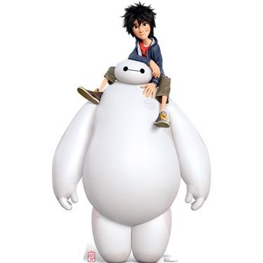 Disney Big Hero 6 Baymax and Hiro Standup - 6' Tall