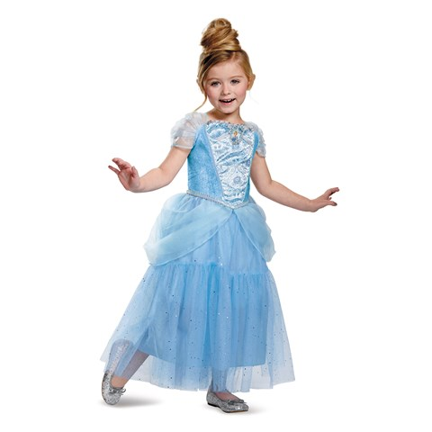 Disney Cinderella Deluxe Sparkle Toddler / Child Costume