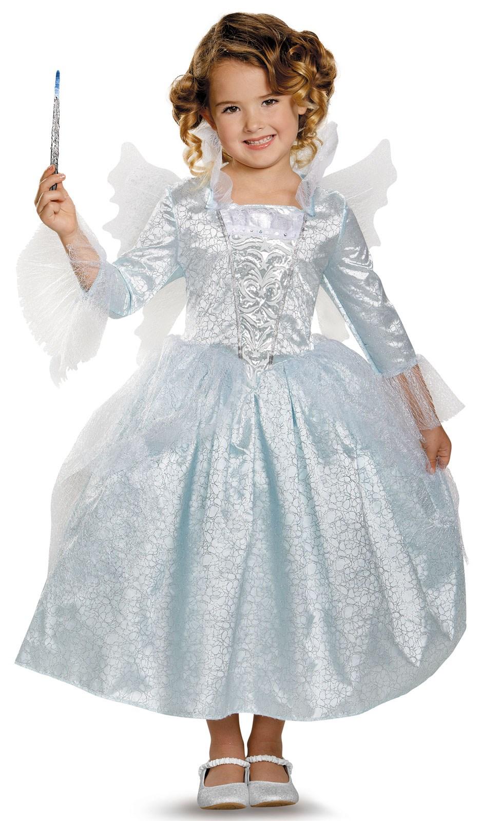 Disney Cinderella Movie: Deluxe Toddler Fairy Godmother Costume ...