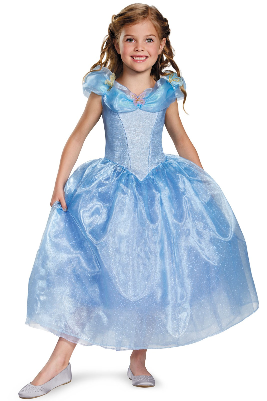 Disney Cinderella Movie Kids Deluxe Costume on Large House With Yard