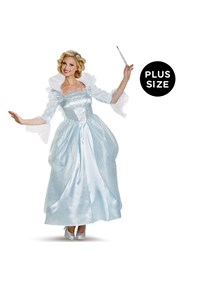 Click Here to buy Disney Cinderella Movie: Prestige Plus Size Fairy  from BuyCostumes