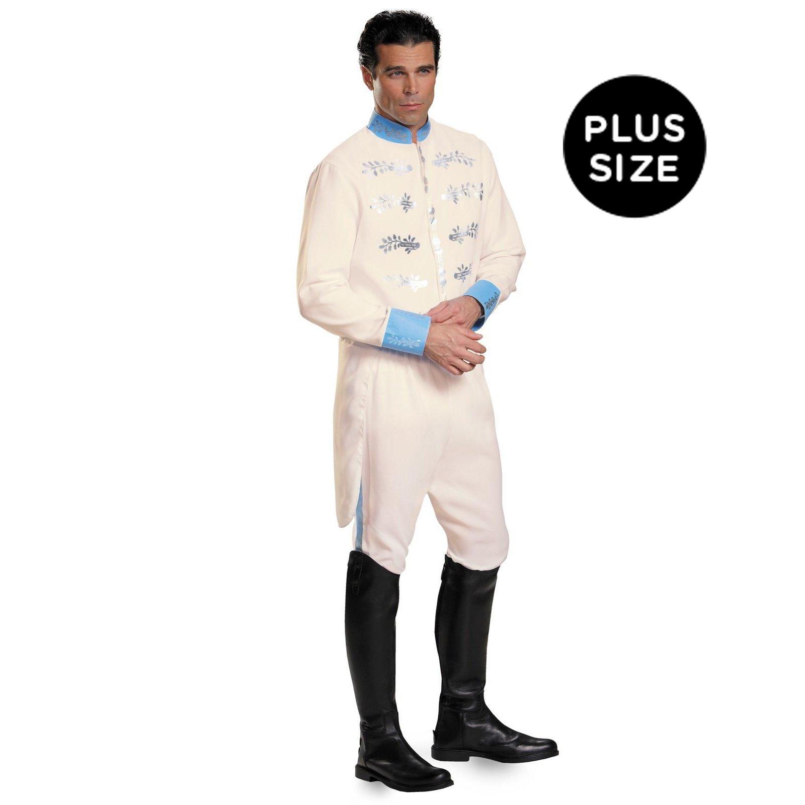 Disney Cinderella Movie: Prince Plus Costume For Men