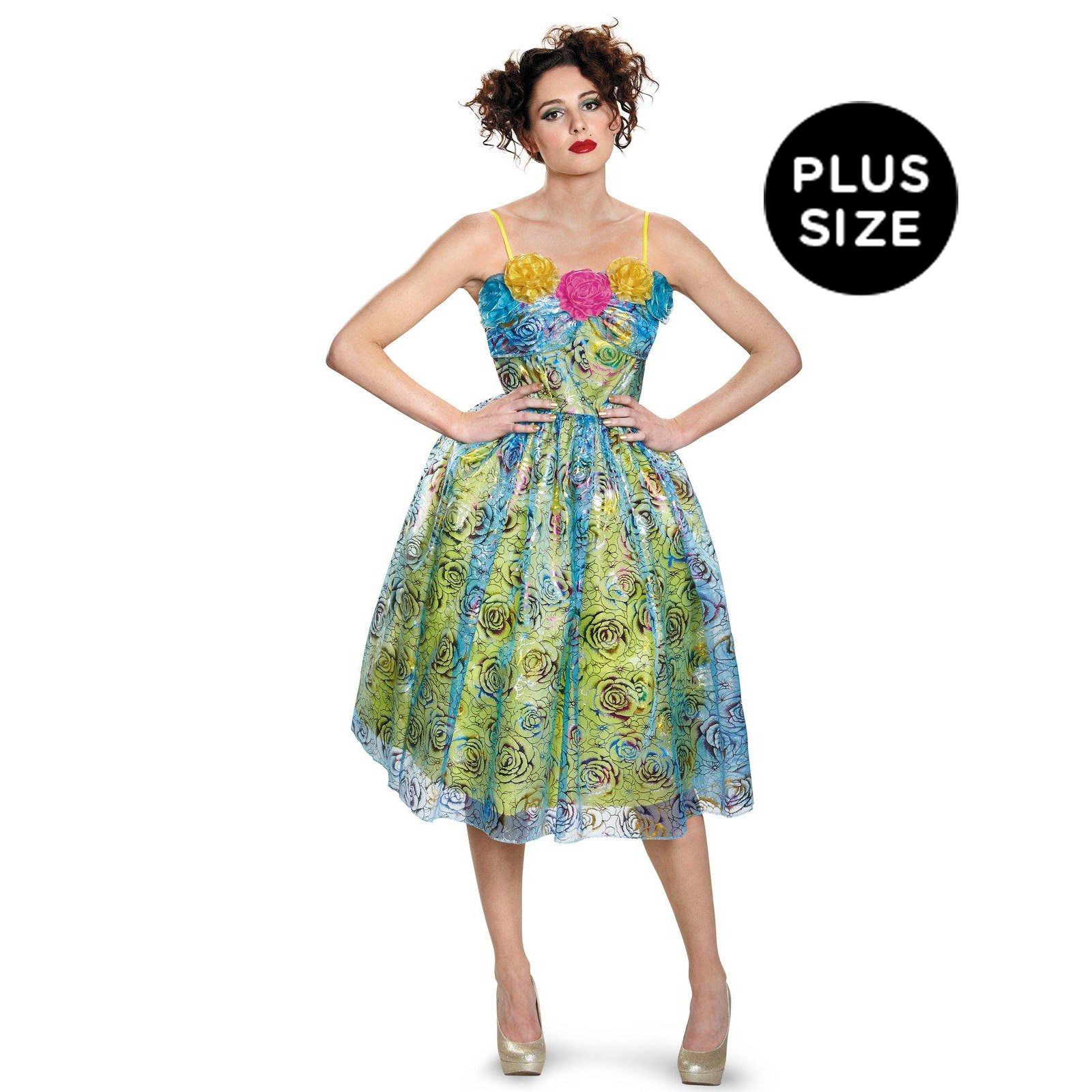 Disney Cinderella Movie: Womens Deluxe Plus Size Drisella Costume