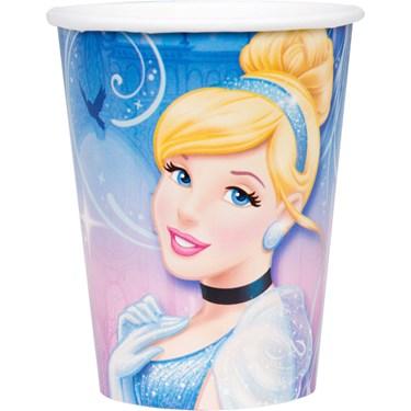Disney Cinderella Sparkle 9 oz. Paper Cups