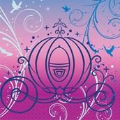 Disney Cinderella Sparkle Beverage Napkins (16)