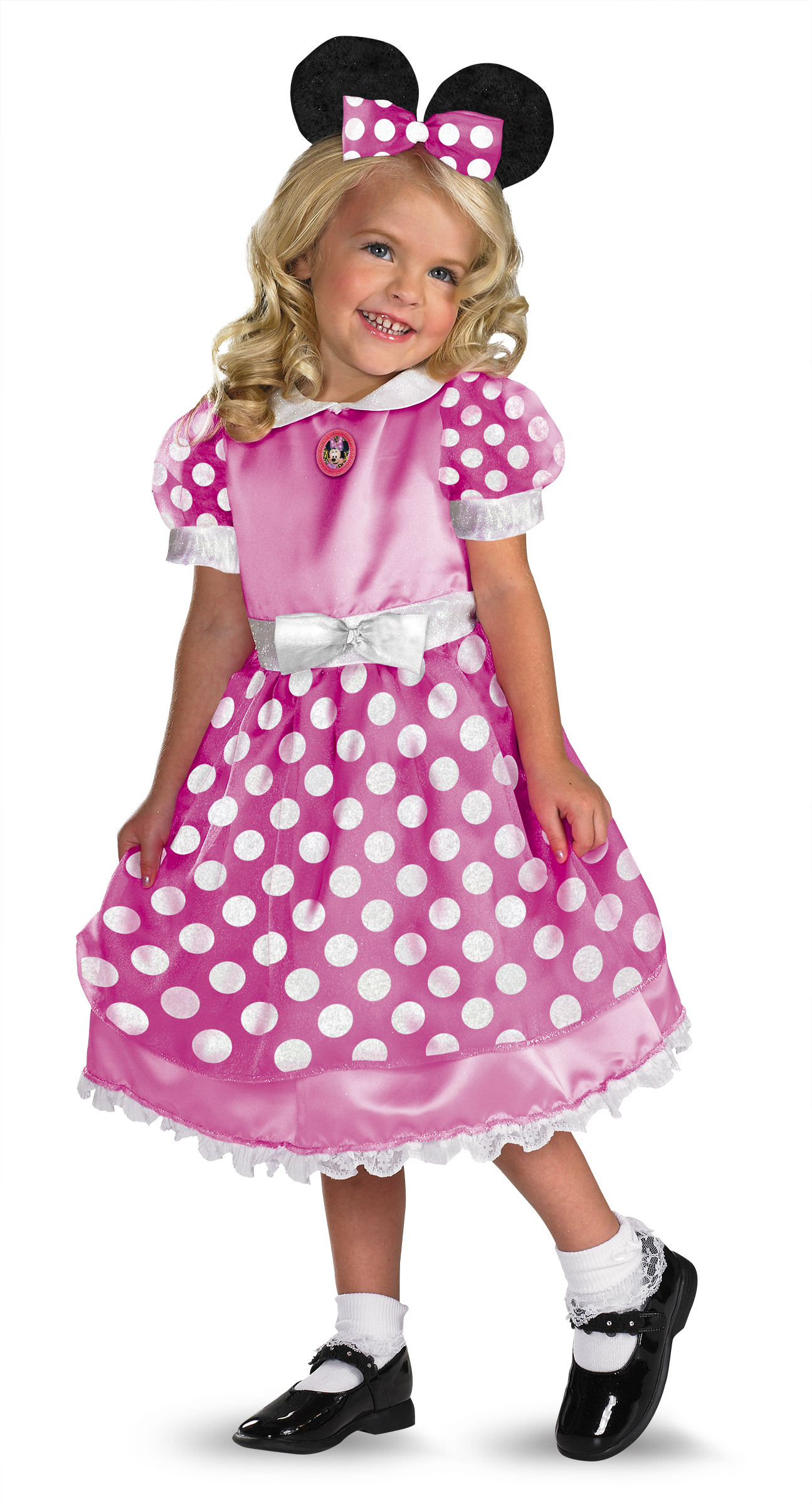 Disney Clubhouse Minnie Mouse (Pink) Toddler / Child Costume ...