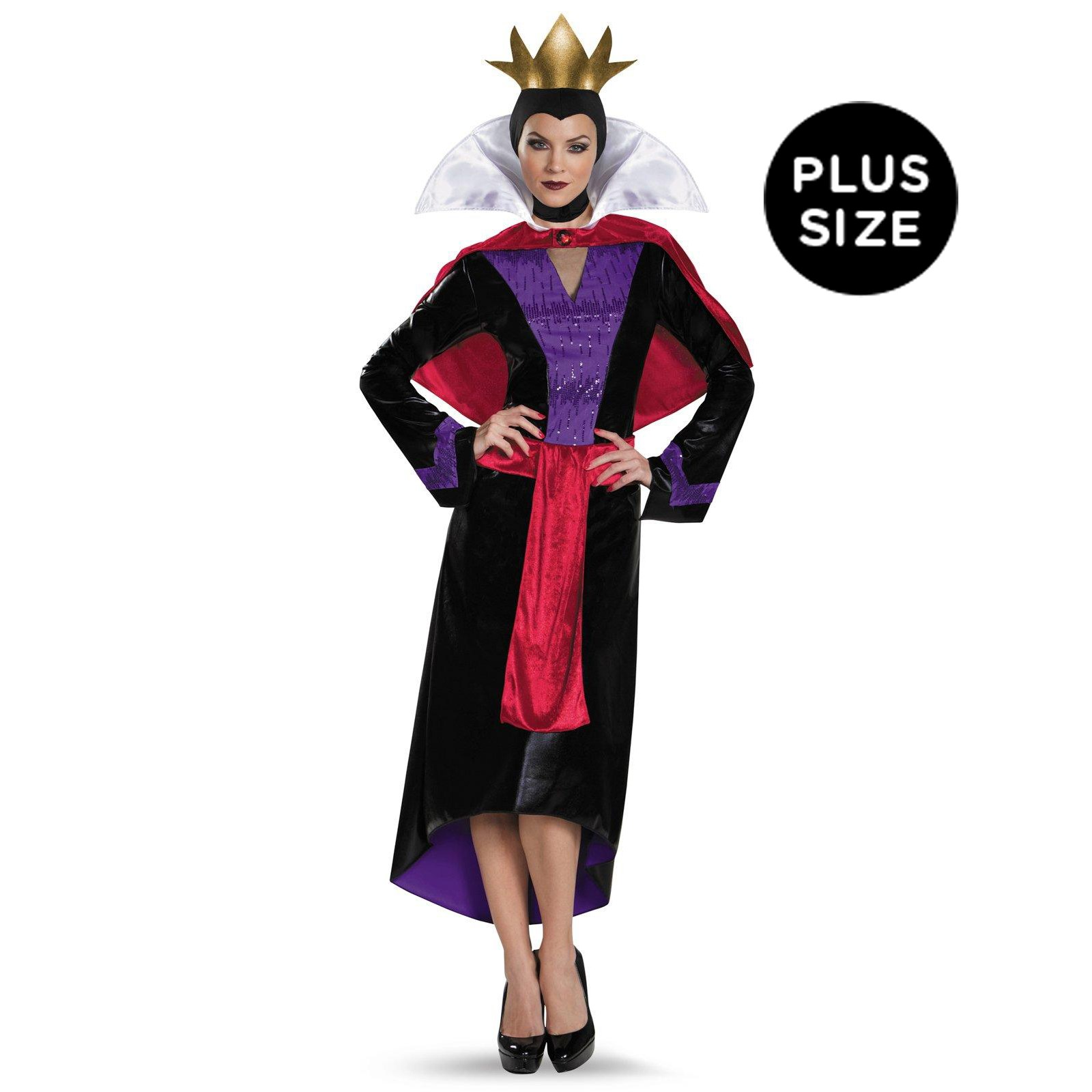 Disney Deluxe Evil Queen Womens Plus Size Costume | BuyCostumes.com