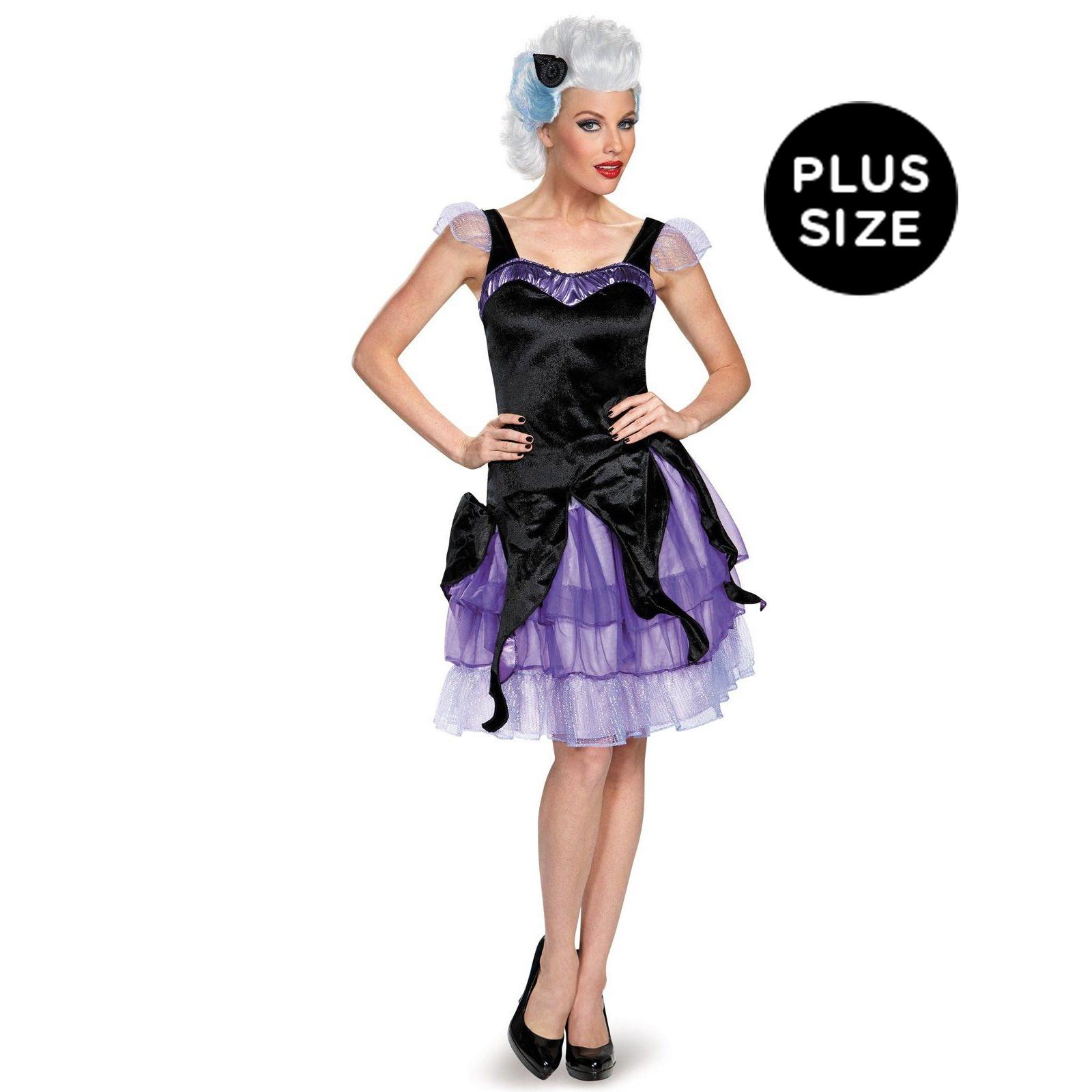 Disney Deluxe Ursula Plus Size Costume For Women | BuyCostumes.com