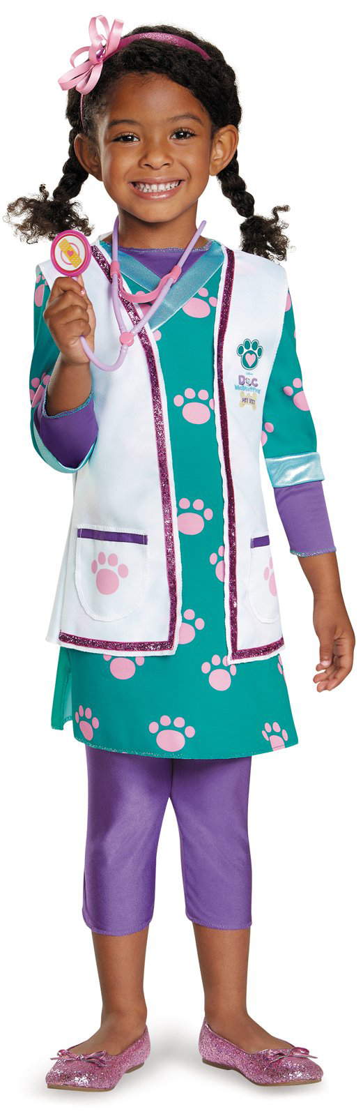 Disney Doc McStuffins Doc Toy Hospital Deluxe Toddler Costume ...