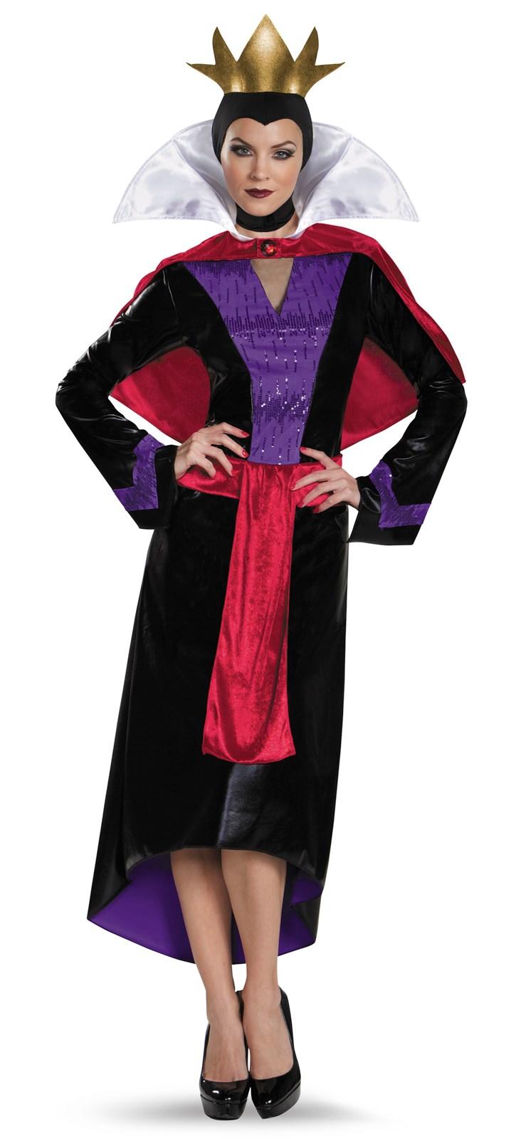 Disney evil queen deluxe costume for women - Evil queen disney ...
