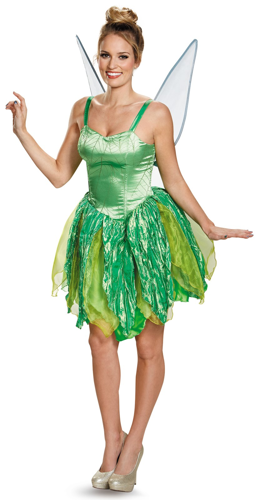 Disney Fairies Prestige Womens Tinker Bell Costume