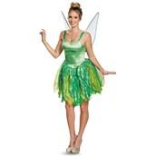 Disney Fairies Prestige Womens Tinker Bell Costume