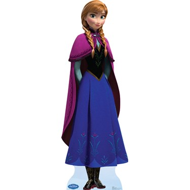 Disney Frozen Anna Standup - 6' Tall