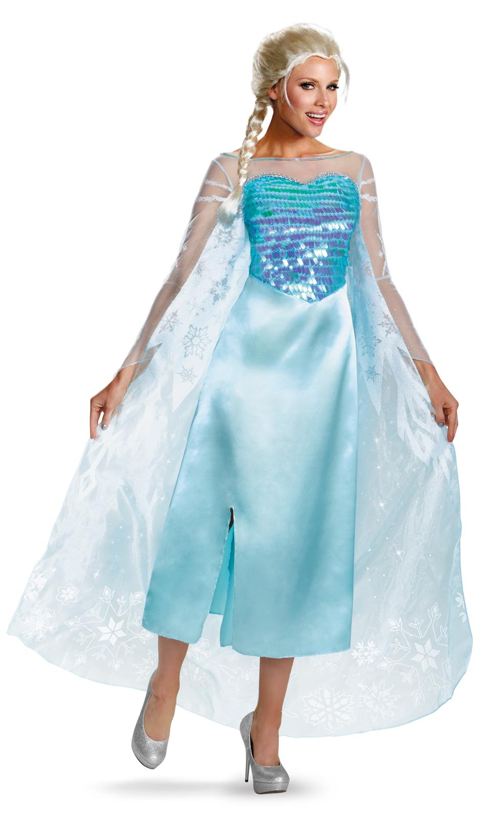 Disney Frozen - Deluxe Elsa Dress | BuyCostumes.com