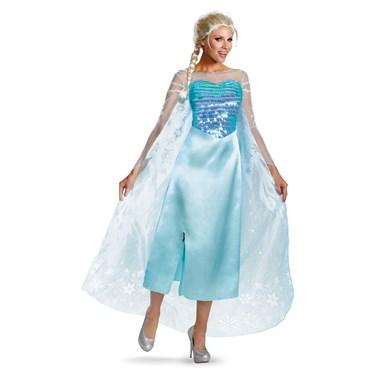 Disney Frozen Deluxe Elsa Adult Dress