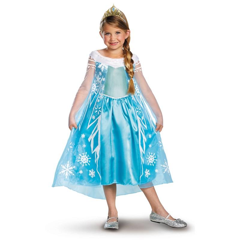 Disney Frozen Deluxe Elsa Toddler / Child Costume