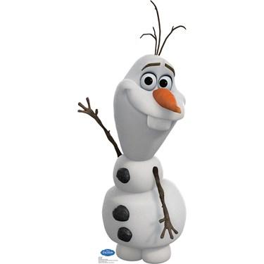 Disney Frozen Olaf Standup - 3' Tall