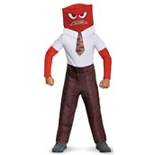 Disney Inside Out - Classic Boys Anger Costume