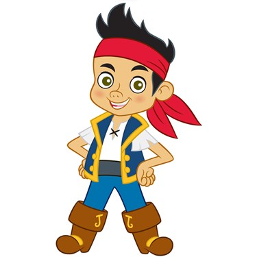 Disney Jake and the Never Land Pirates Standup - 3' Tall