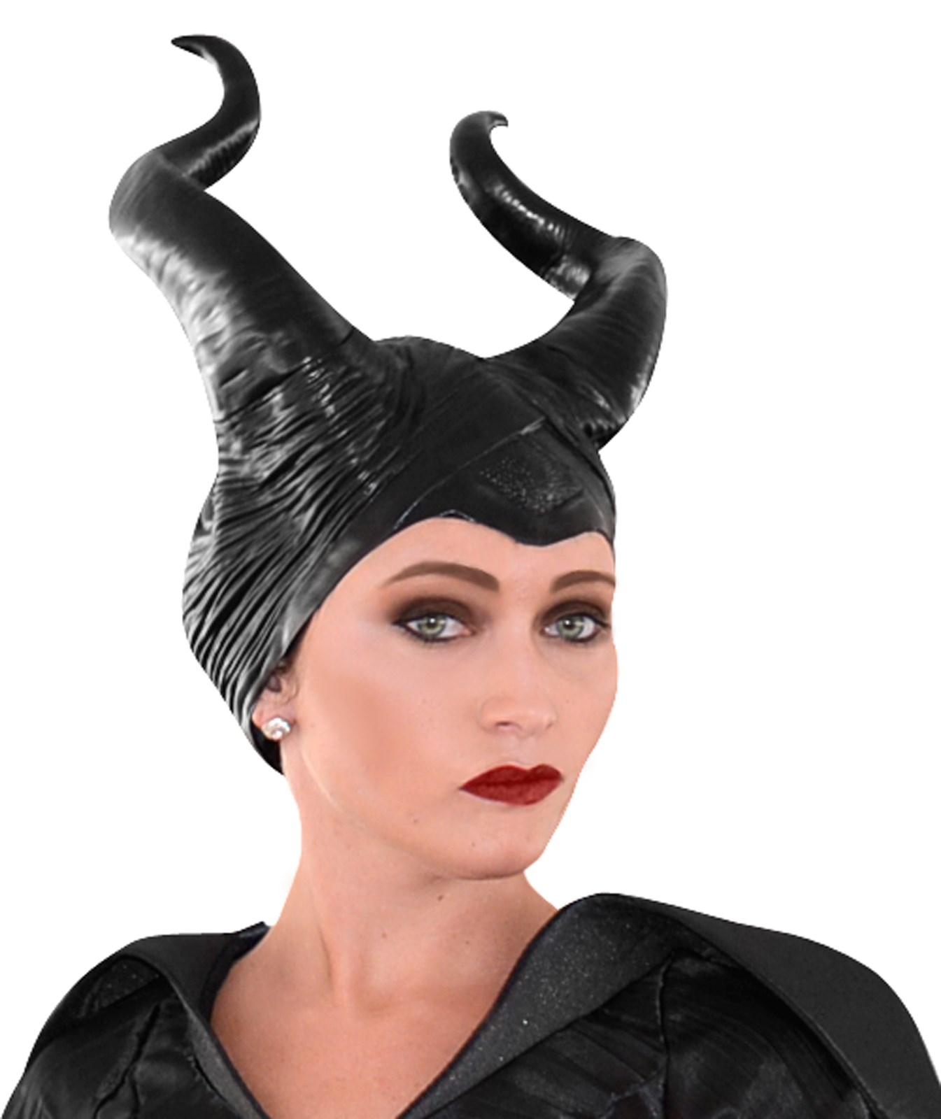 Disney Maleficent - Vinyl Horns Deluxe Headpiece | BuyCostumes.com