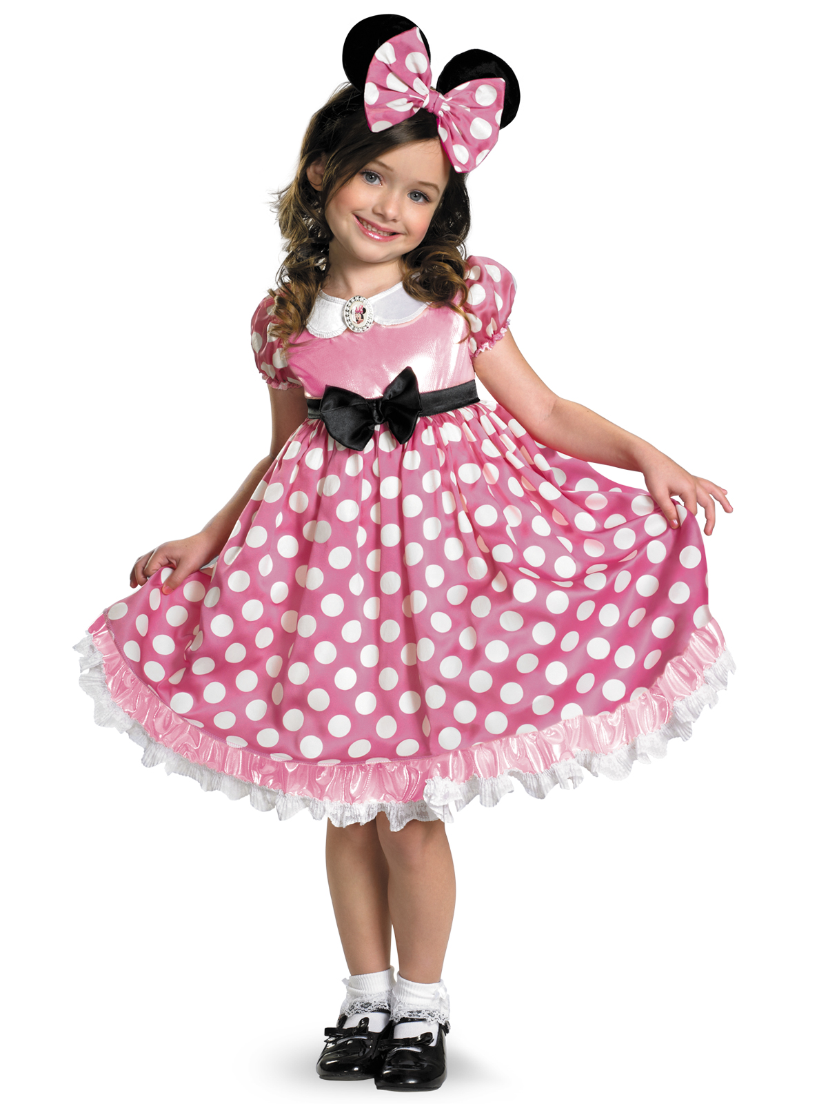 Clubhouse Minnie Mouse Pink Pink Minnie Mouse Glow in