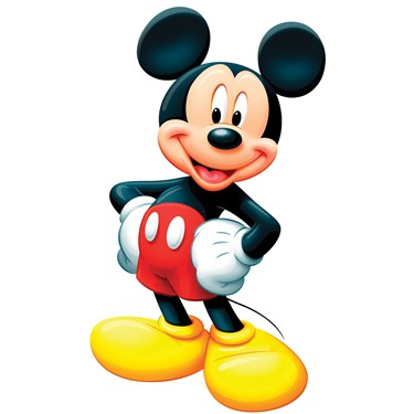 Disney Mickey Mouse Standup - 3' Tall