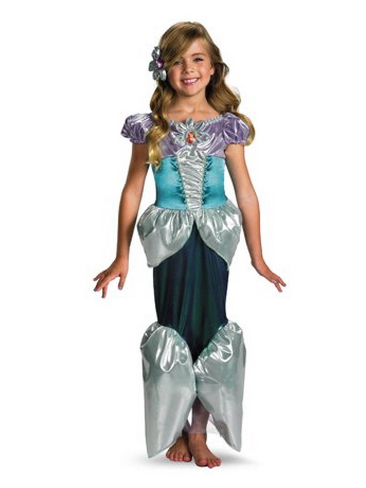 Disney Princess - Ariel Lame Deluxe Toddler / Child Costume ...