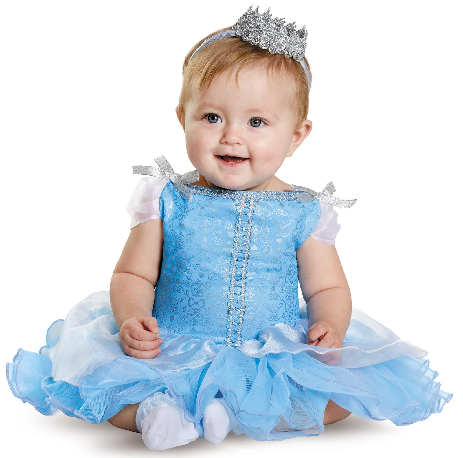 Dress up of cinderella - Disney Princess Cinderella Prestige Costume For Babies