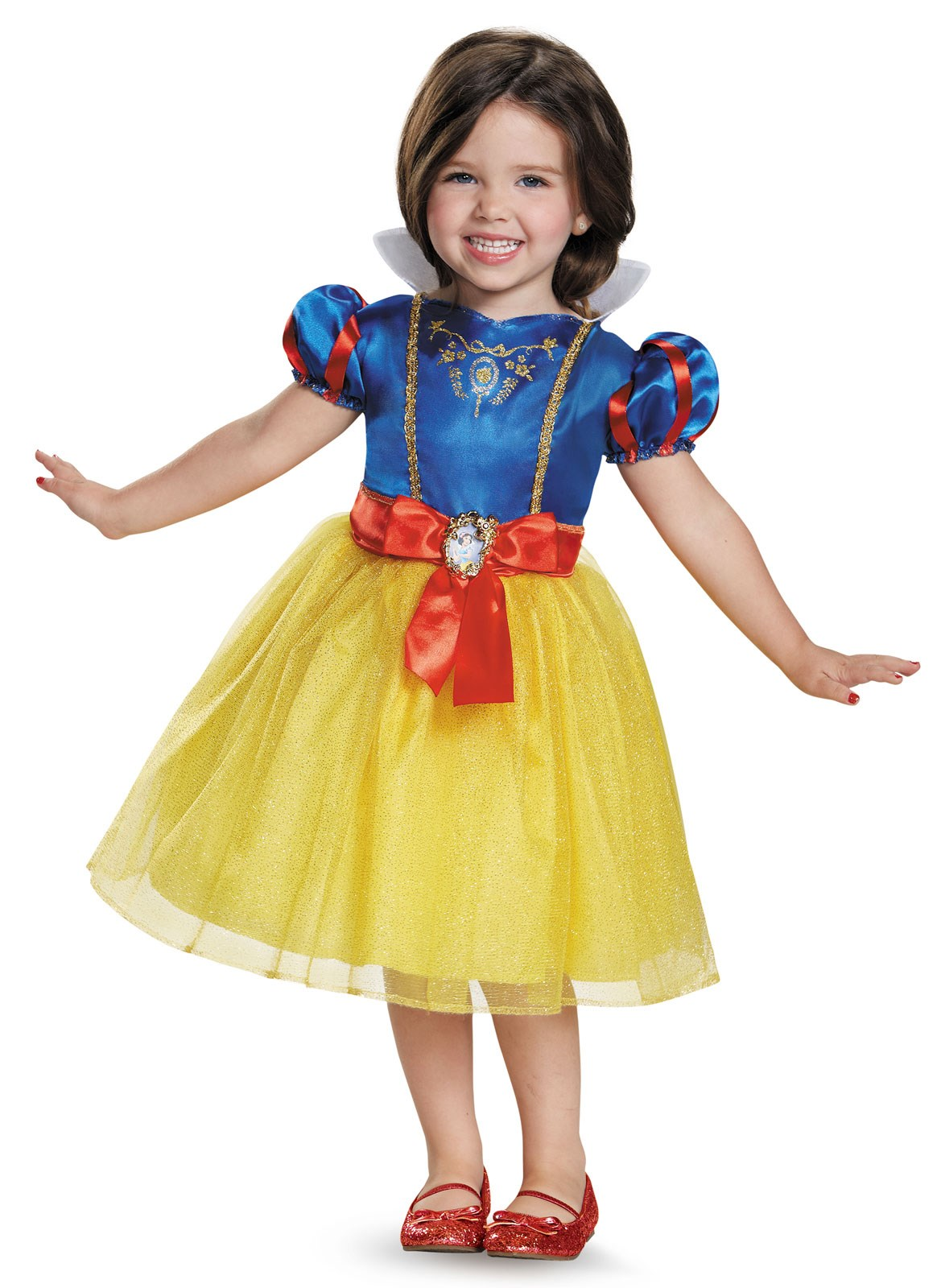 Disney Princess Classic Snow White Costume For Girls