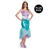 Disney Princess Deluxe Ariel Plus Size Costume For Women