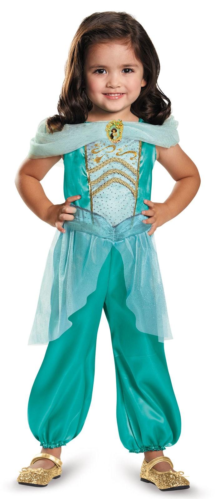 disney princess girls jasmine classic costume. Black Bedroom Furniture Sets. Home Design Ideas
