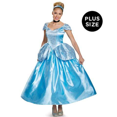 Disney Princess Prestige Cinderella Plus Size Costume For Women