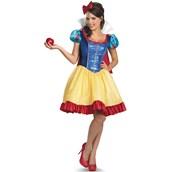 Disney Princess Snow White Fab Deluxe Plus Size Costume For Women